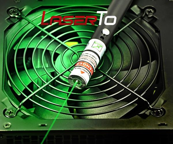 100mw Abaddon Serie Puntatore Laser Verde 532nm Puntatore